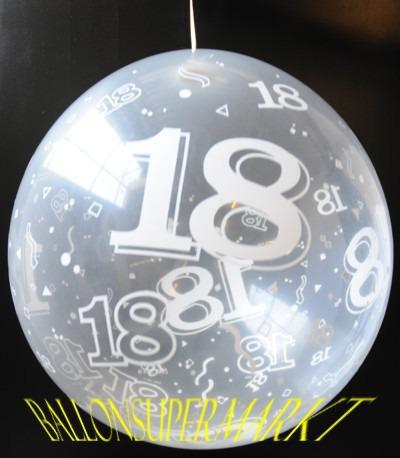 ballonsupermarkt zum 18 geburtstag geschenkballons stuffer geschenkballons. Black Bedroom Furniture Sets. Home Design Ideas