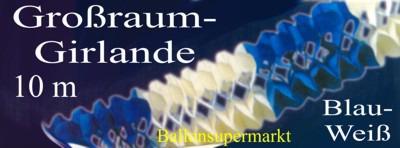 Gross-Raum-Girlande-Blau-Weiss