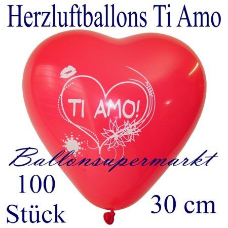 Herzluftballons-Liebe-Ti-amo-100-Stück