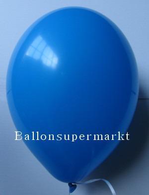 Luftballons Rundballons Oval Blau