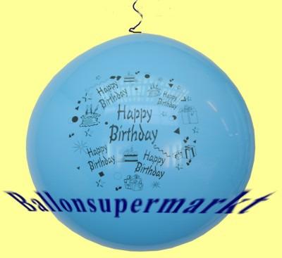 Riesenluftballon-Geburtstag-Happy-Birthday-Geburtstagsdeko-Lila