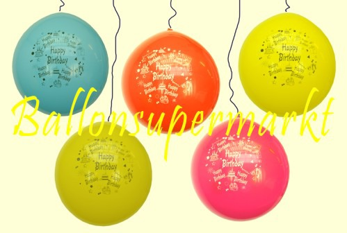 ballonsupermarkt riesenluftballon geburtstag happy birthday riesenluftballons. Black Bedroom Furniture Sets. Home Design Ideas