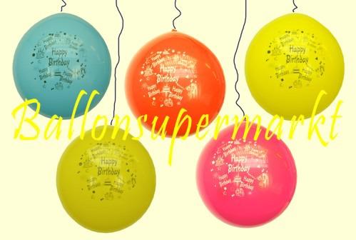 Riesenluftballons-Geburtstag-Happy-Birthday-Geburtstagsdeko