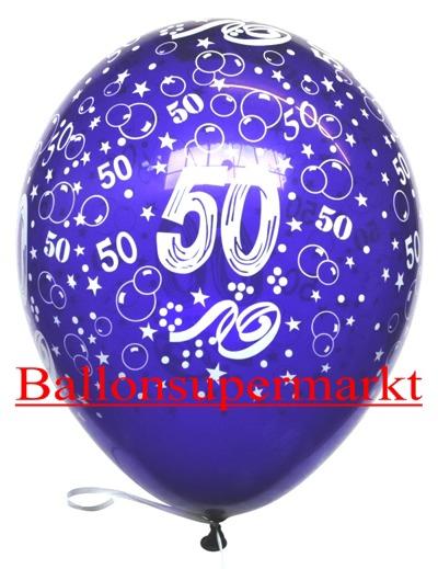 Zahlenluftballons-Geburtstag-50-Kristallfarben