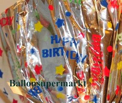 Ballongewicht-Silber-Happy-Birthday-Geburtstag-Folie