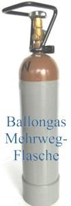 Helium-Ballongas-Mehrwegflasche