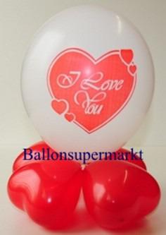 Liebe-Valentinstag-Dekoration-aus-Ballons-4-1
