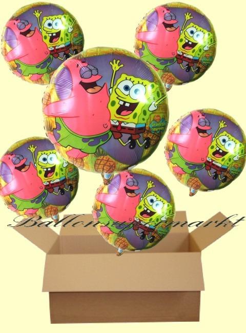 Schwamkopf-Patrick-Luftballons-Geschenke-Kinder