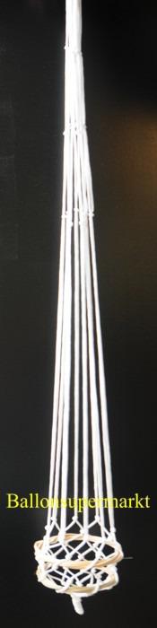 Weißes Netz für einen Fesselballon