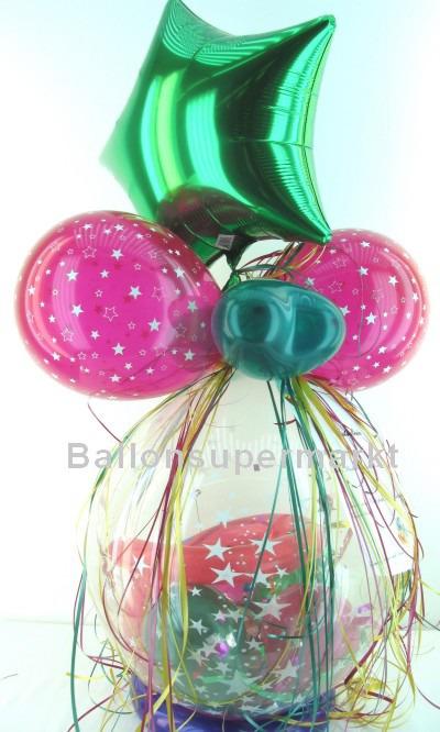 Geschenk im Ballon, Sternchen