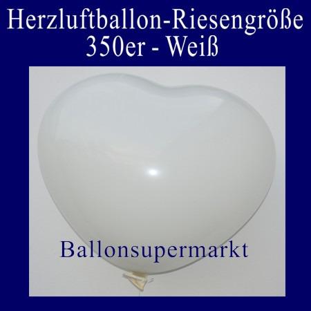 Riesenballon-Herzballon-riesiger-Herzluftballon-Weiss