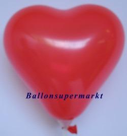 Roter-Herzluftballon-Mini