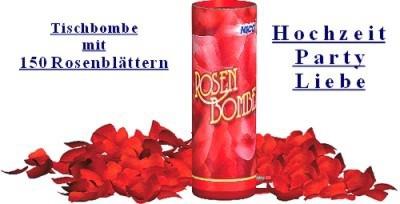 Rosenbombe-Rosenfeuerwerk