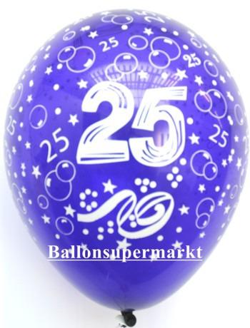 Luftballon-Zahl-25