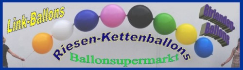 riesen-ketten-luftballons