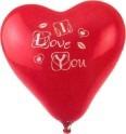 Ballon-Herz, Luftballon Hochzeit und Liebe,