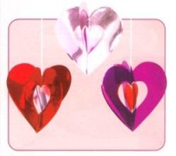 Dekoration Liebe, Herzhänger, Herzdekoration