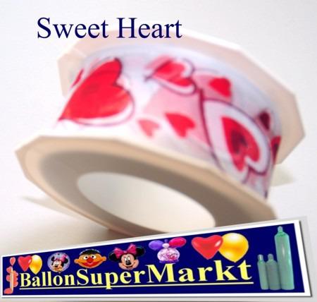 Deko-Zierband-Schmuckband-Sweet-Heart-Rolle