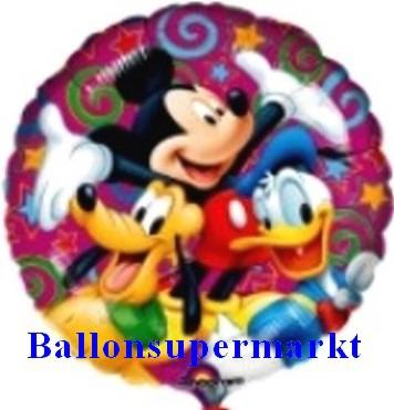 Luftballon Walt Disney, Micky Maus, Donald Duck, Pluto