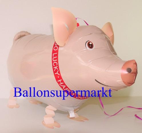 Lustiges-Schweinchen-Luftballon-mit-Helium