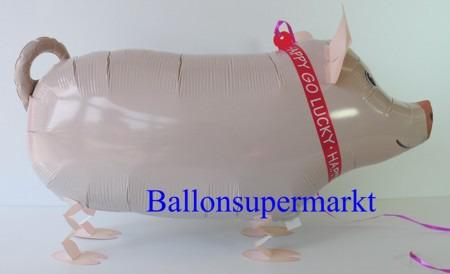 Schwein-Airwalker-Luftballon