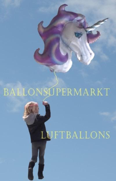 Einhorn-Luftballon vom Ballonsupermarkt