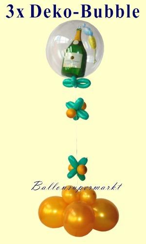 3-Party-Deko-Silvester-Champagner