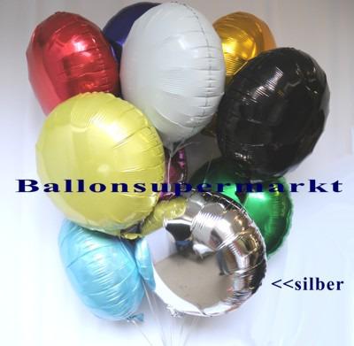 Folienballon-silber-Luftballon-aus-Folie-45-cm