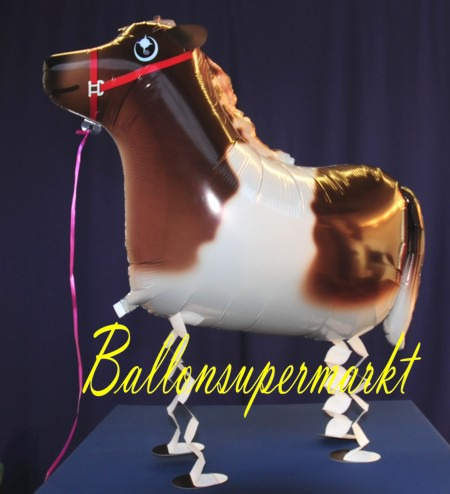 Airwalker-Ballon-laufendes-Pony