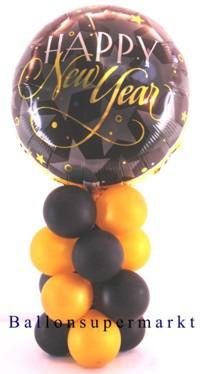 Happy-New-Year-Silvester-Luftballon-Folie-Tischdekoration