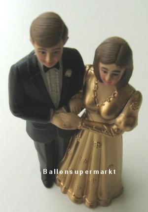 Hochzeitspärchen Tischdeko Hochzeitsfest, Goldhochzeit