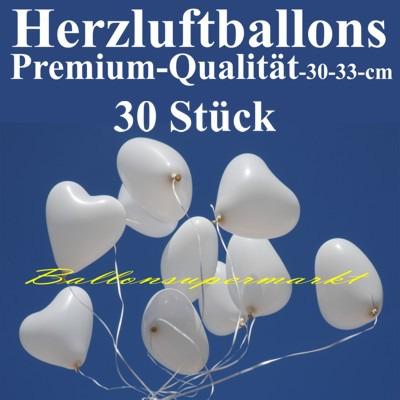 Herzluftballons-Premium-Weiss-30-Stück