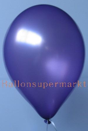 Luftballon Lila Metallic