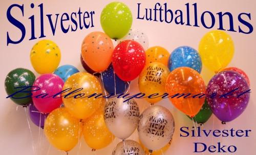 Silvester-Luftballons-Silvesterdeko