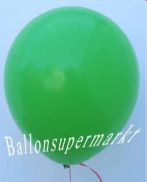 Luftballons in Grün