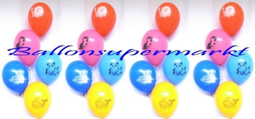 Ballondekoration-Luftballons-Tiermotive
