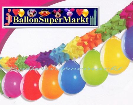 Party-Girlande-mit-Luftballons-Festdekoration