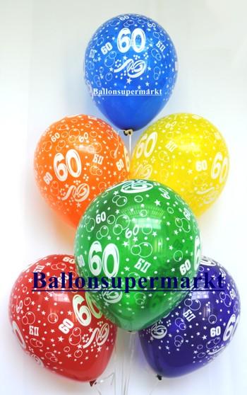 Zahlenluftballons-Geburtstag-60