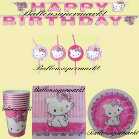 charmmy-kitty-partydekoration-kinder-set