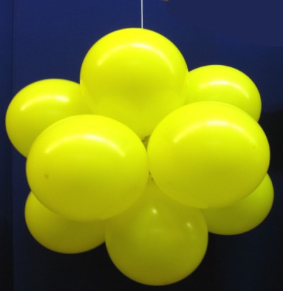 Luftballons: Ballonkugel, Luftballonkugel, Party und Festdekoration