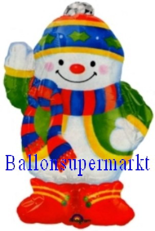 Schneemann Luftballon