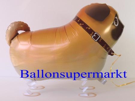 Mops-Airwalker-Luftballon
