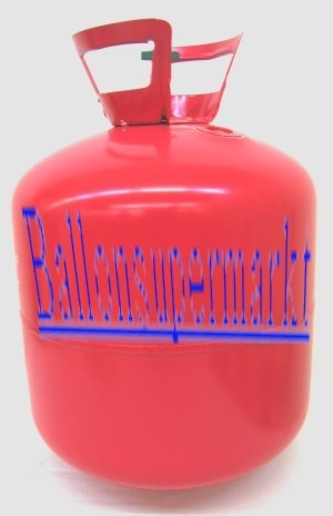 Helium-Ballongas-Einwegflasche