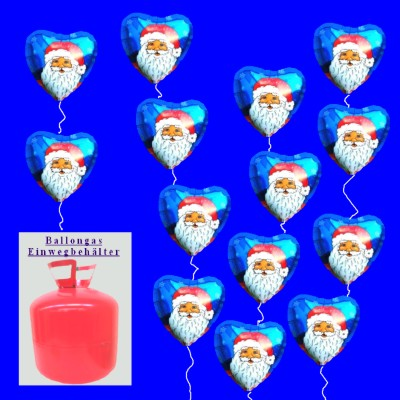 Nikolaus-Ballons, Luftballons Weihnachten