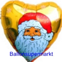 Weihnachtsglückwünsche mit Luftballons Nikolaus, Weihnachtsballons
