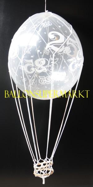 Ballonsupermarkt fesselballon zur - Dekoration zur silberhochzeit ...