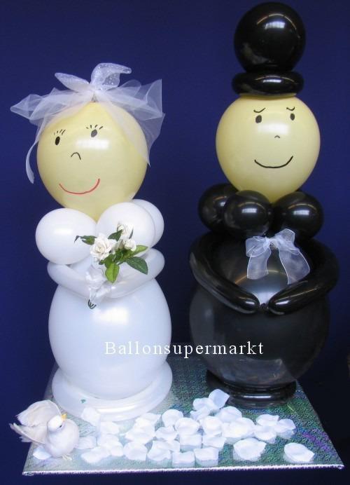 Hochzeitsdeko-Hochzeitspaar-Luftballons