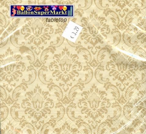 Hochzeitsservietten-Ornament-Gold-2
