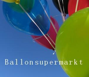 Luftballons kauft man im Ballonsupermarkt: Da weiss man was man hat! Fachhandel für Luftballone in bester Qualität