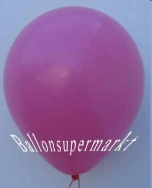 Luftballons-Pink-Latex-Rundballons